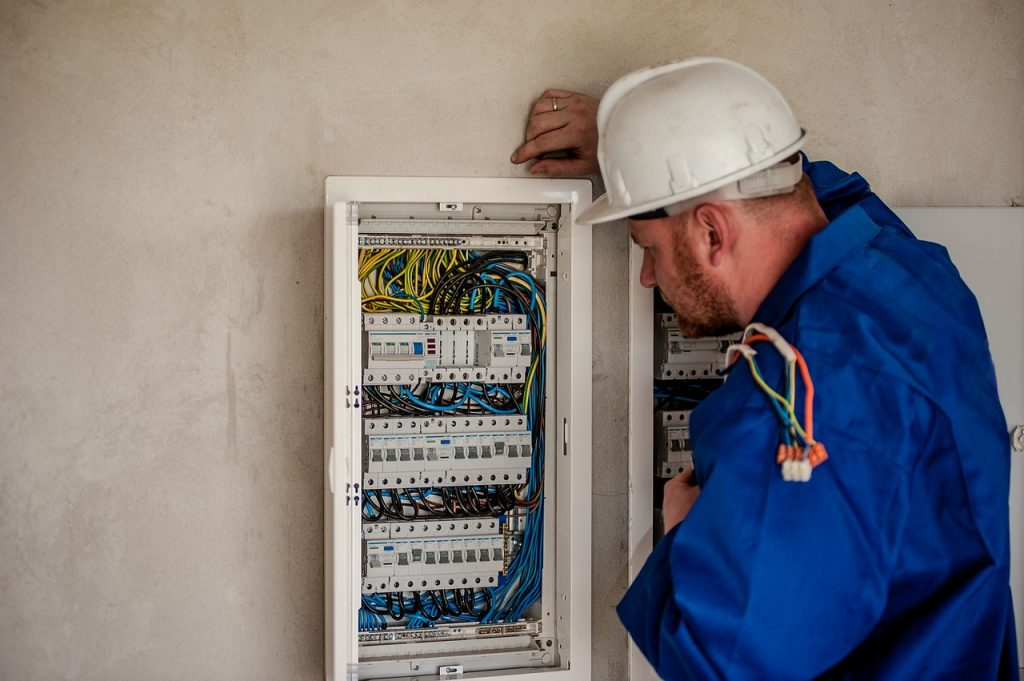 electrician, electric, electricity